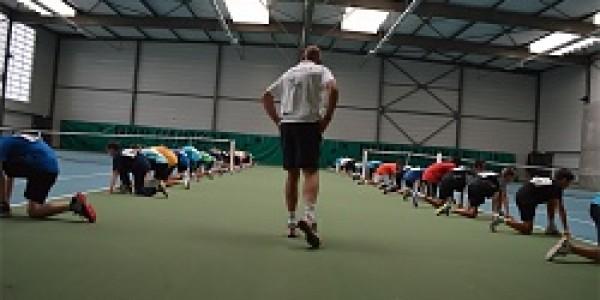 1er entrainement physique au TC Bois Orcan